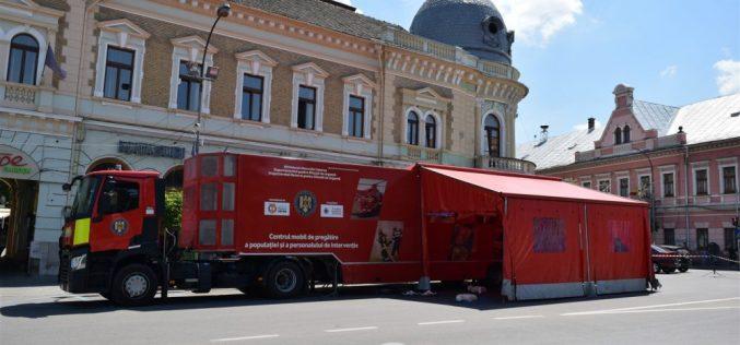 Caravana SMURD a ajuns la Dej! Doritorii pot afla, de la specialiști, cum să acorde primul ajutor – FOTO/VIDEO