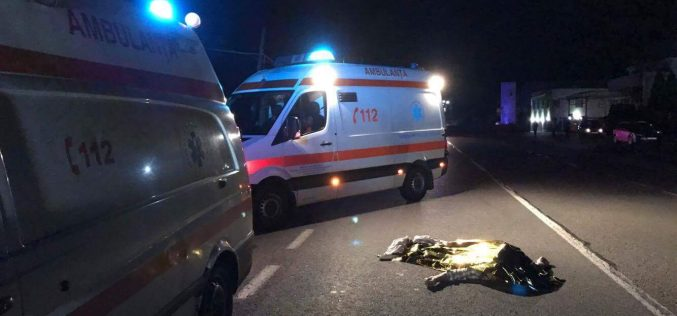 ACCIDENT MORTAL la Iclod! Un pieton a fost izbit în plin de o mașină – FOTO/VIDEO