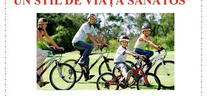 Concurs de biciclete, sâmbătă, în centrul municipiului Dej