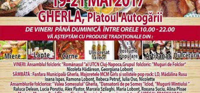 """Târgul """"Produs de Cluj"""" poposește în acest weekend la Gherla! Vezi programul complet"""