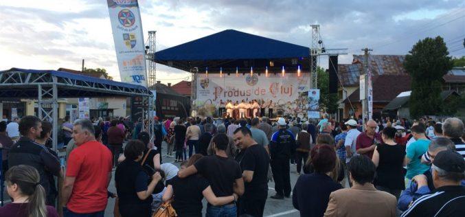 """Prezența târgului """"Produs de Cluj"""" la Gherla, un real succes"""