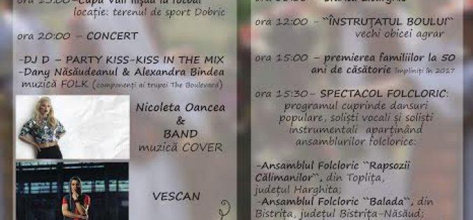 Zilele Comunei Căianu Mic – concert Vescan, foc de artificii și numeroase alte surprize