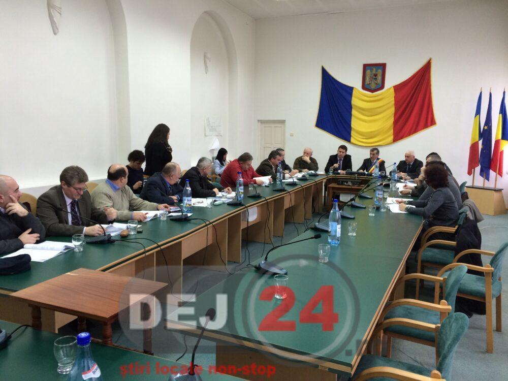 Consiliul Local Dej sedinta (1)