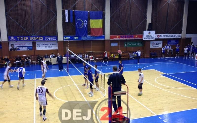 Unirea Dej a fost învinsă de Dinamo, în Cupa României – VOLEI