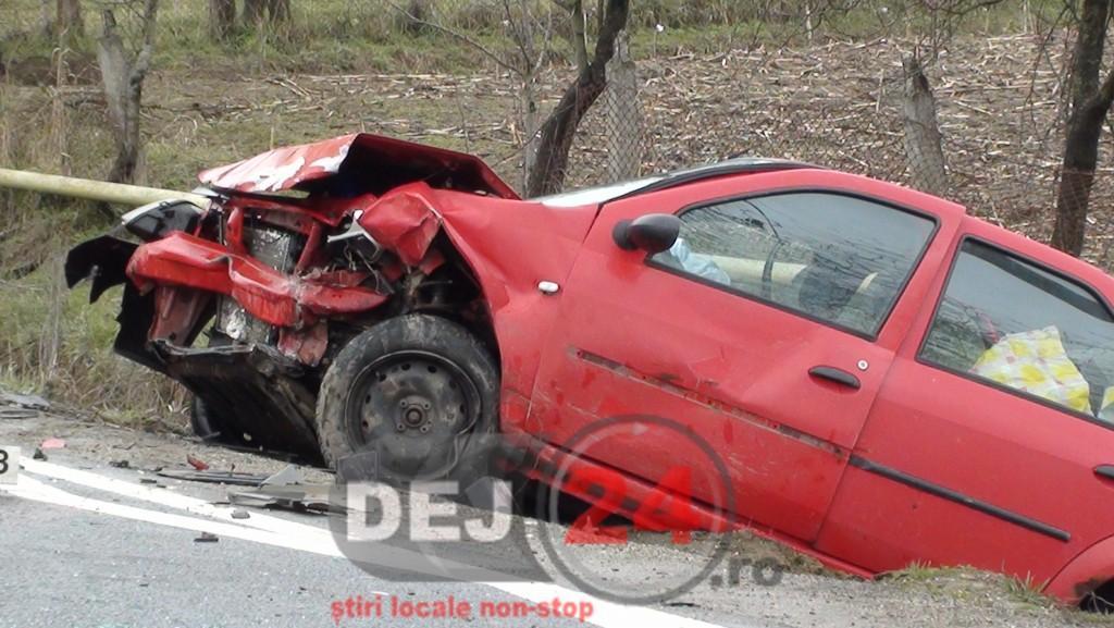 accident masina in sant