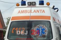 Accident la Stoiana. O ambulanţă de la Dej a fost trimisă la faţa locului
