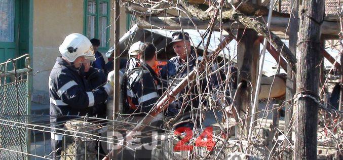 Bărbat găsit MORT în fântână. Au intervenit militarii din cadrul Detașamentului de Pompieri Dej