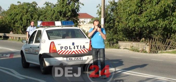 Femeie bănuită că a furat din Cluj, depistată de polițiști în Dej