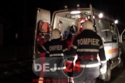 Pompierii din Dej au intervenit la un bărbat blocat în locuință