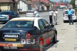 Beat și fără permis de conducere, pe străzile din Dej