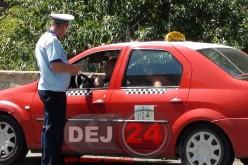 Polițiștii dejeni au prins un tânăr care conducea fără permis, în Rugășești