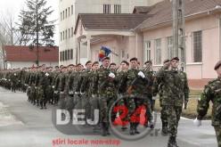 """Batalionul 811 Infanterie """"DEJ"""", în straie de sărbătoare – FOTO/VIDEO"""