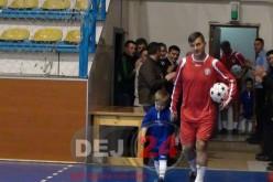 Stelea, Rotariu și Sabău au jucat fotbal pentru paramedicul Florin Benea