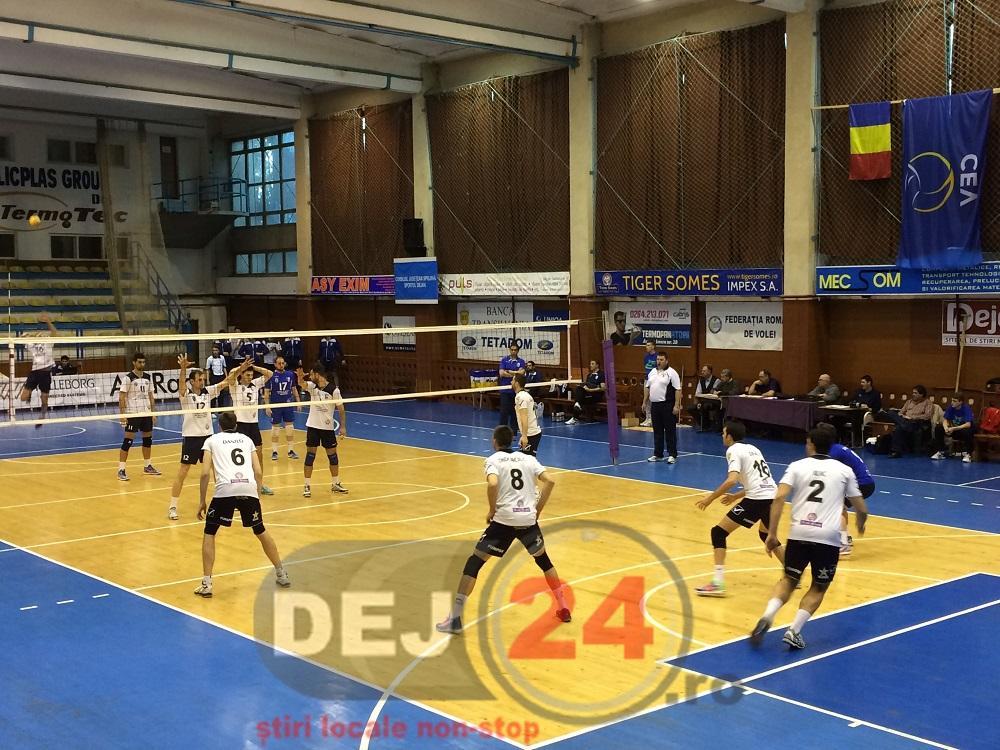 Unirea Dej - CSM Bucuresti volei masculin (2)