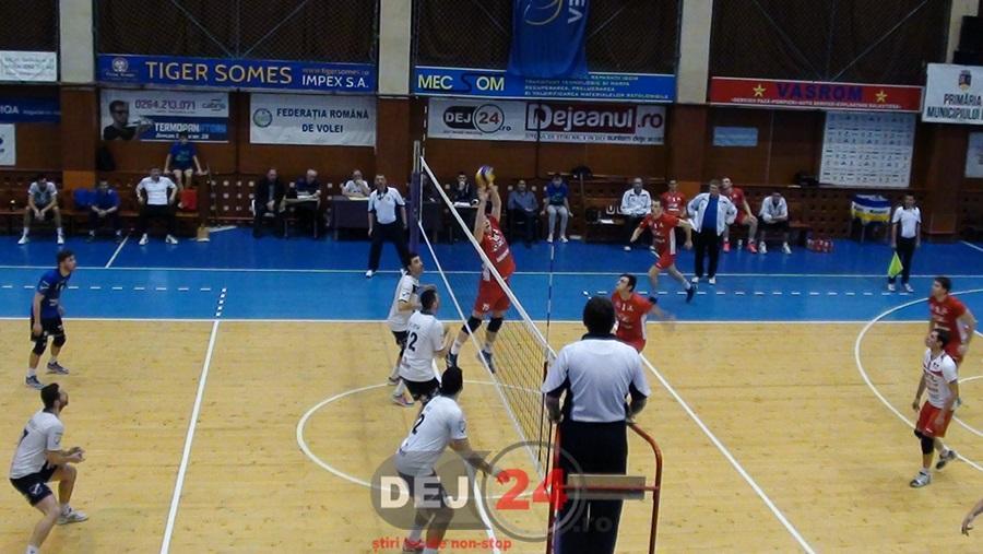 Unirea Dej - Piatra Neamt volei masculin (1)