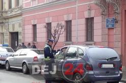 Acțiune cu efective mărite a polițiștilor, la Dej. S-au împărțit amenzi și s-au ridicat permise