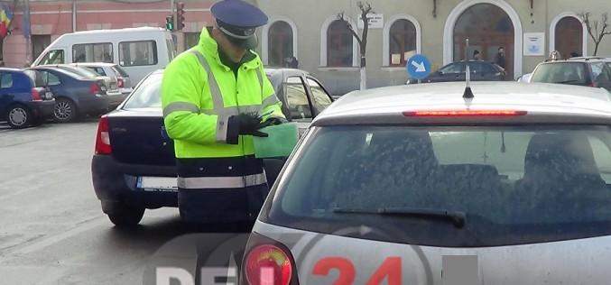 Tânăr din Câțcău, depistat de polițiștii dejeni, la volan, fără permis de conducere
