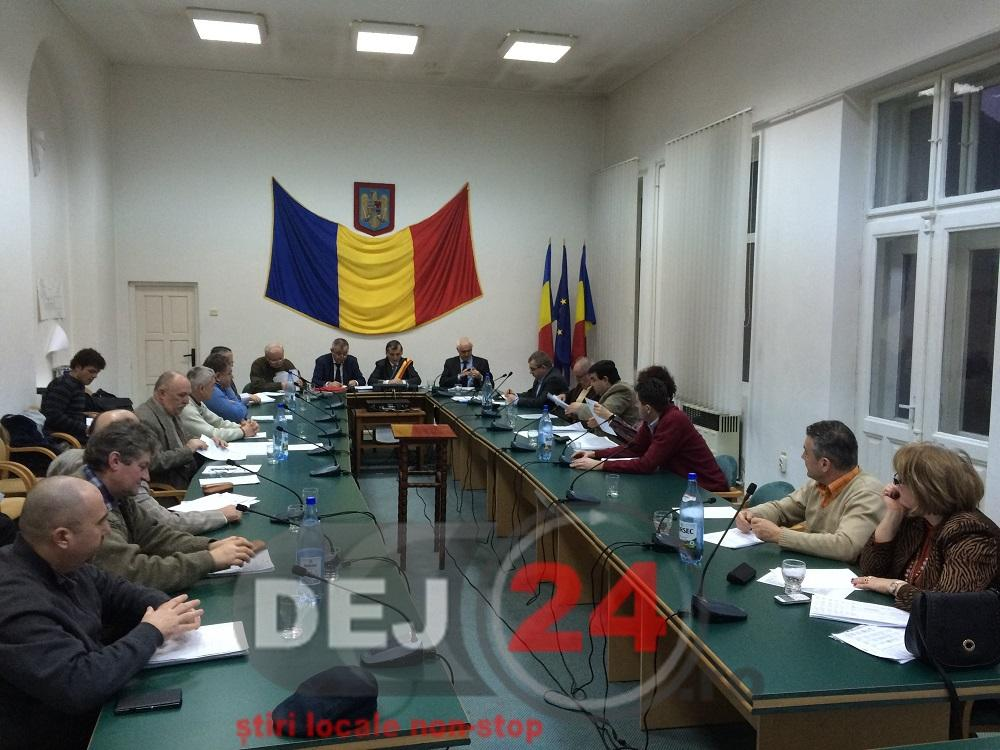 consilieri sedinta buget Dej (1)