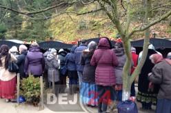 Pelerini din Dej și Gherla, blocați la Mănăstirea Prislop