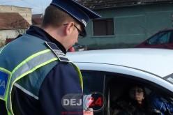 Circula prin Gherla cu o mașină radiată din anul 2013, dar a fost prins de polițiști