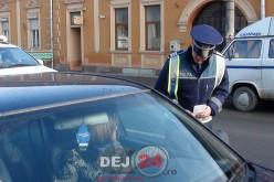 Tânăr depistat de poliţişti pe raza localităţii Uriu cu un autoturism neînmatriculat