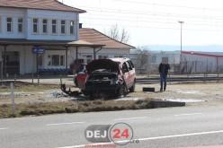 Accident rutier grav în Jucu din cauza oboselii la volan