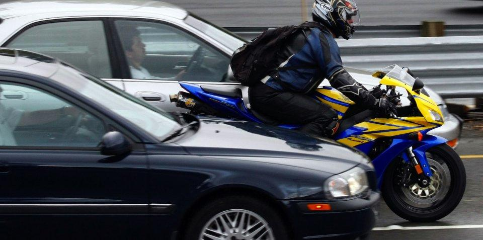 Motocicleta motociclist moto