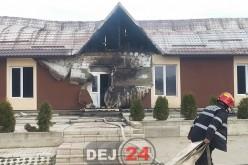 Două imobile din Jucu de Sus, cuprinse de flăcări – FOTO/VIDEO