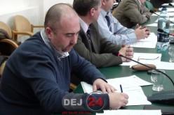 """Consiliul Local Dej i-a cerut demisia lui Sebastian Lazin/ """"Locul aparține PMP-ului"""" – FOTO/VIDEO"""