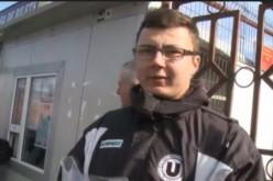 """Un suporter al """"U"""" Cluj, din Nima, a """"luat la bani mărunți"""" CFR-ul"""