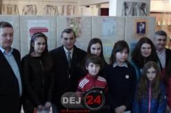 Cei mai talentați elevi din Dej au fost premiați la Muzeul Municipal Dej – FOTO/VIDEO