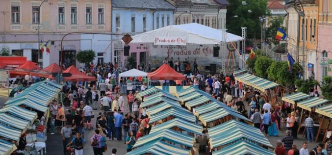 """Târgul """"Produs de Cluj"""" ajunge săptămâna viitoare și la Dej!"""