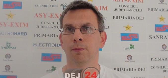 EXCLUSIV – Victor Lazăr nu mai este antrenorul Unirii Dej. Se negociază cu un tehnician străin