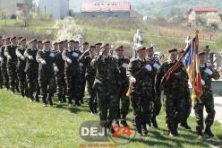 Ziua Forțelor Terestre, sărbătorită de militarii din Dej – FOTO/VIDEO