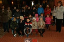 """Elevii dejeni, în vizită la Biserica Parohială """"Adormirea Maicii Domnului"""" Dej II – FOTO"""