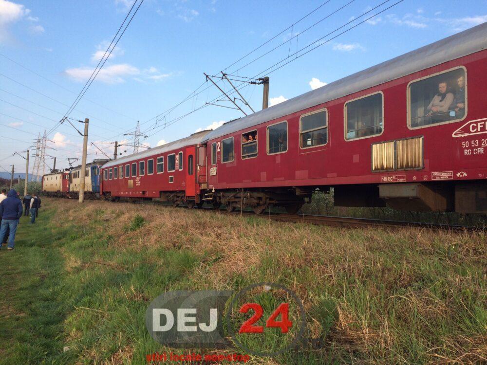 Tren feroviar accident