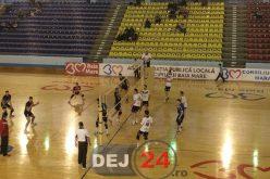 VOLEI | CS Unirea Dej a pierdut meciul cu Știința Explorări Baia Mare, scor 1-3