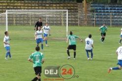 Opt goluri înscrise în meciul Unirea Dej – Sănătatea Cluj. Un fotbalist a reușit hattrick-ul – FOTO/VIDEO