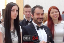 Ultimul clopoțel pentru elevii de clasa a XII-a din Dej – FOTO/VIDEO