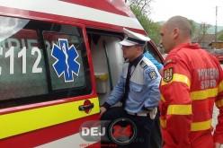 Accident în Câțcău. Un tânăr a avut nevoie de îngrijiri medicale – FOTO/VIDEO