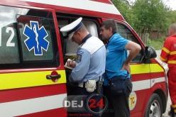 ACCIDENT cu TREI VICTIME la intrare în Beclean, dinspre Dej