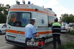 Minoră din Dej, RĂNITĂ GRAV în urma unui accident petrecut în Gherla