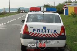 Acțiune preventivă a polițiștilor, ieri, la Dej