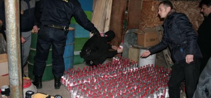 Local din Dej, verificat de polițiști! Au descoperit și confiscat băuturi spirtoase fără acte