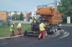 Municipiul Dej, în plină campanie de reparare a străzilor