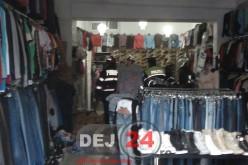 EXPLOZIE la un magazin din Piața Bobâlna din Dej – FOTO/VIDEO