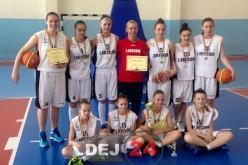 Baschetbalistele LAPI Dej, campioane ale României la ONSS – FOTO