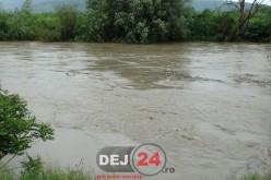 S-a prelungit CODUL PORTOCALIU și GALBEN de INUNDAȚII pentru mai multe râuri din N-V țării