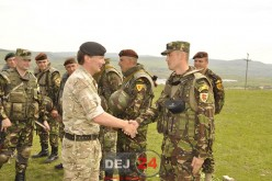 Instructorii britanici și-au încheiat misiunea de la Dej – FOTO