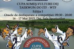 Cupa Someș la Taekwon-Do ITF – WTF, în acest weekend, la Dej